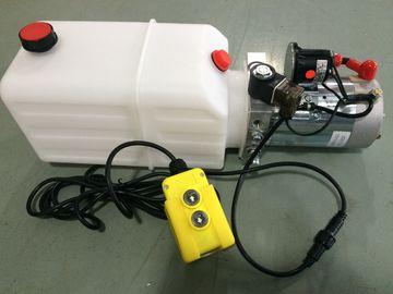 Οριζόντια ενιαία να ενεργήσει ΣΥΝΕΧΩΝ 12V μηχανών μίνι πακέτα υδραυλικής δύναμης για το ρυμουλκό απορρίψεων