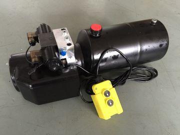 Explosionproof 8L χάλυβα μονάδες υδραυλικής δύναμης δεξαμενών ηλεκτρικές για τους διπλής ενέργειας κυλίνδρους