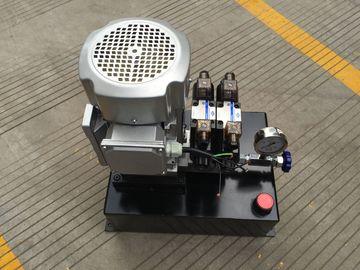 Επιτραπέζιο εναλλασσόμενο ρεύμα 380V ενιαία να ενεργήσει ανελκυστήρων μονάδα υδραυλικής δύναμης με την τετραγωνική δεξαμενή χάλυβα
