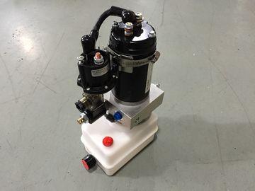 Οριζόντια πακέτα υδραυλικής δύναμης μονταρισμάτων φορητά μίνι 12V με τη μηχανή 0.8Kw αλεξίπυρη